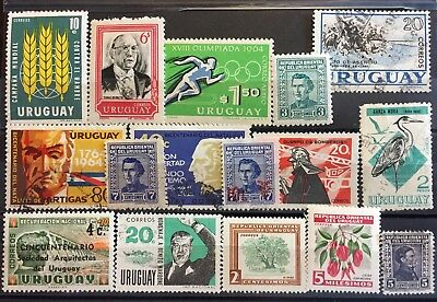 Excellent URUGUAY postage stamps for your world collection!!!!!