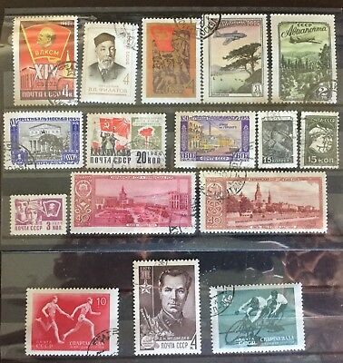 Excellent Ussr Stamps For Your World Collection!!!!