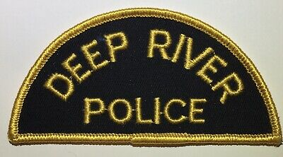 DEEP RIVER POLICE Ontario Canada Obsolete Patch