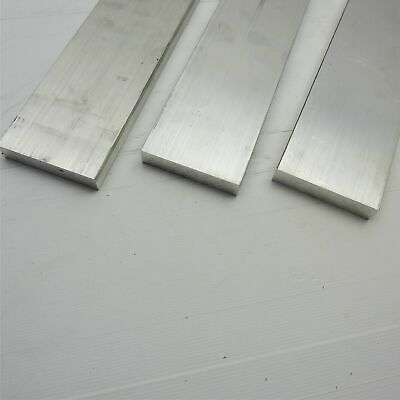 "1"" x 4.5"" Aluminum 6061 FLAT BAR 5.875"" Long new mill stock QTY 3 sku 175932"