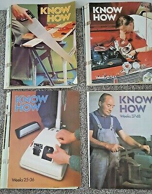 Vintage 1970's Know How DIY Magazines - Issues 1 to 31