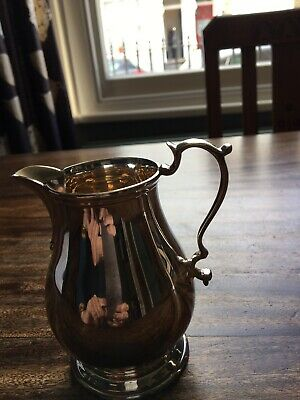 Silver Plated Traditional Style Small Jug