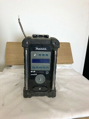 MAKITA 18V LXT BMR101 JOB SITE RADIO DAB/FM/AUX CAN WORK ( No Battery Or Cha