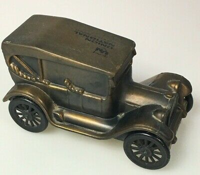 Banthrico's Model T 1914 Car Cast Metal Coin Bank Union National Bank & Trust
