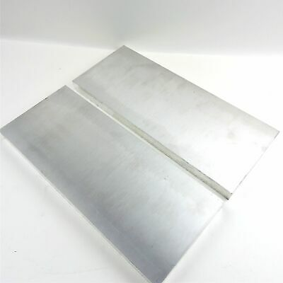 ".75"" thick  3/4  Aluminum 6061 PLATE  6.375"" x 19"" Long QTY 2  sku 175740"