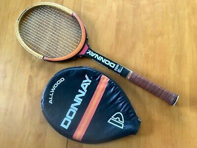 Donnay All Wood Tennis Racket with Case