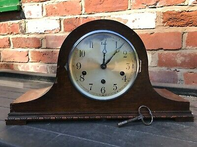 Napoleon Hat Mantle Clock With Westminster Chimes