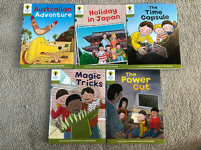 Oxford Reading Tree Biff Chip Kipper - 5 Books - Level Stage 7