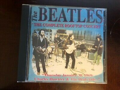 Beatles - The Complete Rooftop Concert CD - Rare  Import CD -6213