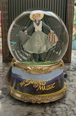 The Sound Of Music Musical Water Globe Plays Climb Every Mountain *Rare