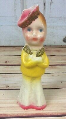 Vintage 1950's CARNIVAL CHALKWARE Sailor Circus Midway Prize Navy