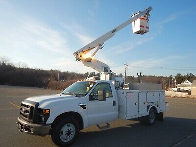 Ford F-350 Bucket Truck 29ft Boom XL Super Duty Vera Lift Brand FX Body 2008
