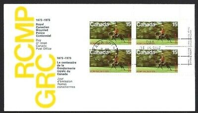 Canada    # 614 URpb    RCMP MUSICAL RIDE    Superb New 1973 Unaddressed Covers