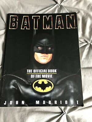 1989 Batman Official Book Of The Movie