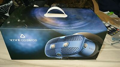 HTC Vive Cosmos VR Virtual Reality Headset and Controllers