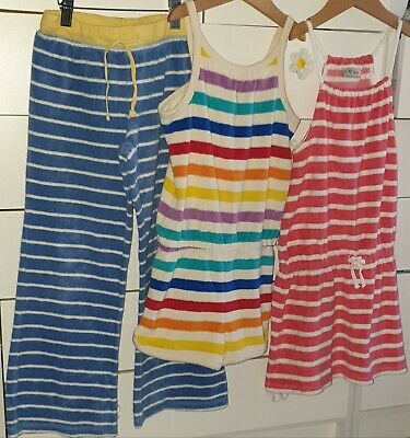 7-8 little bird next towelling dress rainbow playsuit mini boden trousers bundle