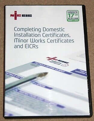 NICEIC Completing Domestic Installation Certificates, EICR & MW