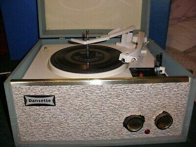 Dansette Tempo Vintage Record Player with a Garrard Movement -full working order