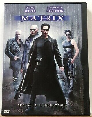 DVD SCIENCE FICTION--MATRIX--Film avec KEANU REEVES