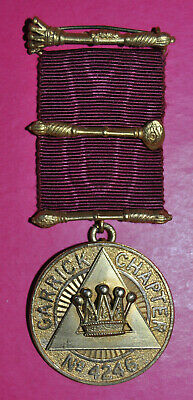 Garrick Royal Arch Chapter No 4246 masonic past MEZ jewel PZ