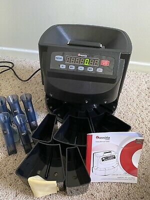 Cassida C200 Coin Sorter, Counter and Roller - Works Perfectly!