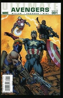 Ultimate Avengers #1-18 Near Mint Complete Set 2009