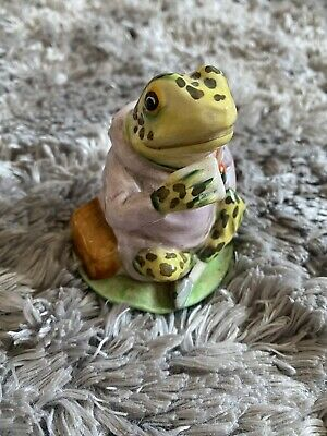 Royal Doulton Brambly Hedge Mr Jeremy Fisher Frog Character Figurine