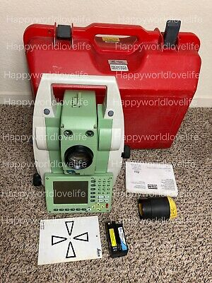 Leica TCRP1201 R100  Total Station reflectorless Dual Display.