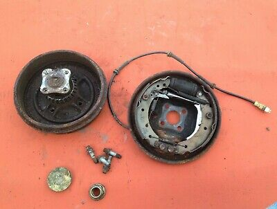 Renault Clio 01-05 1.5 Dci Passenger Side Complate Rear Brake Drum with ABS