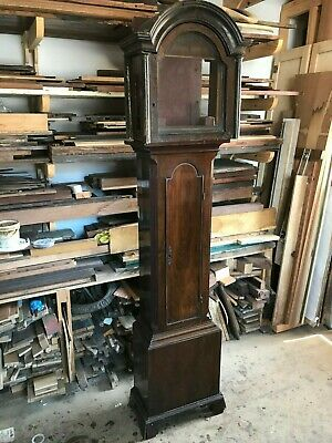 Antique Georgian Longcase Clock Case