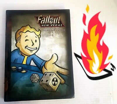 🕹️🔥 Fallout New Vegas Collector's Edition Official Game Guide COLLECTORS L👀K!