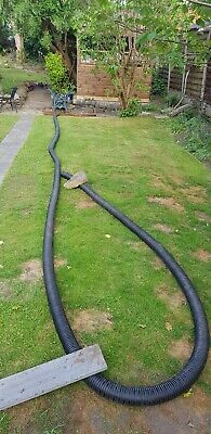 12m Perforated Land Drain 80mm Drainage