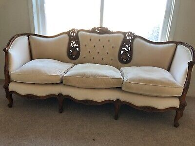 Antique Ornate Sofa/Sette/ couch from the Yokes Estate
