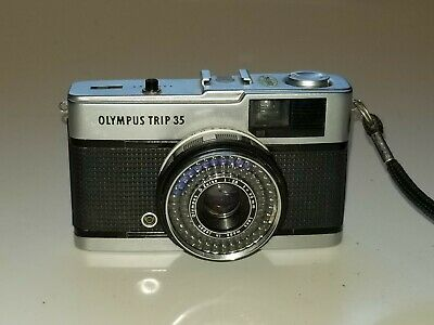 Olympus Trip 35mm Compact Film Camera Tested With Film