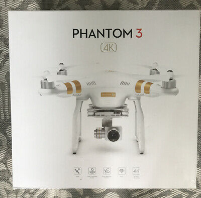 DJI Phantom 3 Pro 4K Camera Drone, Hard Case, Extra Propellers, Charger& More