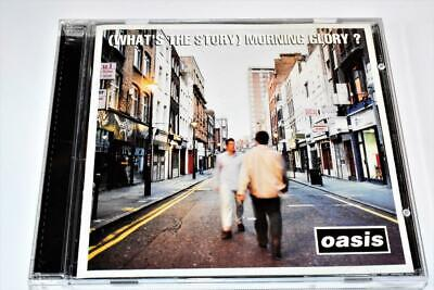 Oasis Whats The Story Morning Glory 1995 Epic Records Britpop CD VG+