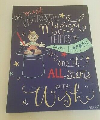Disney Pinocchio Canvas - Wall Art - 40 x 30cm