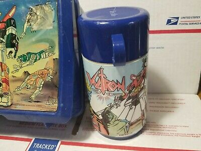 1984 Vintage VOLTRAN Lunch BOX AND THERMOS