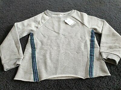 Girls Next  Grey Sweatshirt Age 8 Years