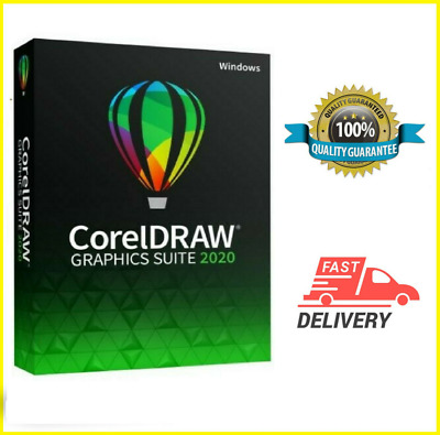 Corel draw graphics suite 2020 Full Version Fast Delivery Multilingual✅