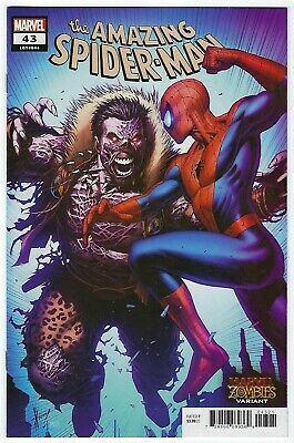 Amazing Spider-Man Vol 5 # 43 Marvel Zombie Variant Cover 2020
