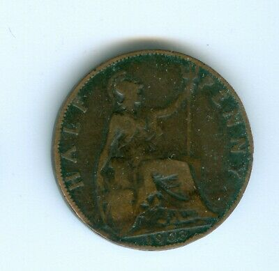 Great Britain 1903 Half Penny--Circulated