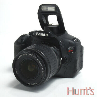 CANON EOS REBEL T3i 600D 18.0 MP APS-C DSLR CAMERA BODY ONLY  ** SOLD AS IS **