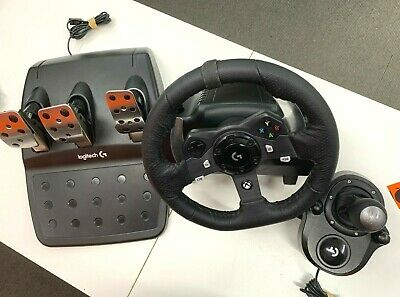 Logitech G920 Driving Force Racing Wheel for PC and Xbox One +