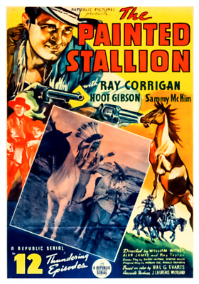 16mm Sound Films: THE PAINTED STALLION (1937) Western - 12 CHAPTER SERIAL