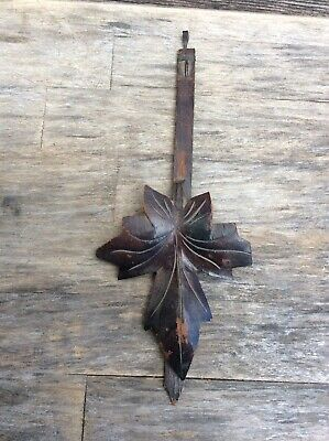 Antique Original German Black Forest Cuckoo Clock Pendulum