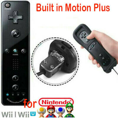 Built-in Motion Plus Inside Remote Controller For Nintendo Wii / Wii U Wiimote .