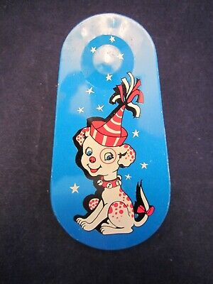 New Year's Eve Party Tin Crank Noisemaker Party Puppy A