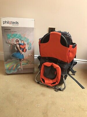 Phil & Teds Parade Free Standing Baby/Toddler Back Carrier