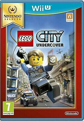 Lego City Undercover Nintendo Wii U (Selects) - New and Sealed